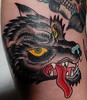 Wolf Mouth Tattoos By Gabe