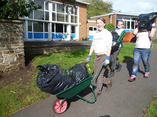 Community action day Glenfrome 2