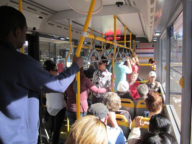 Perth Red CAT bus