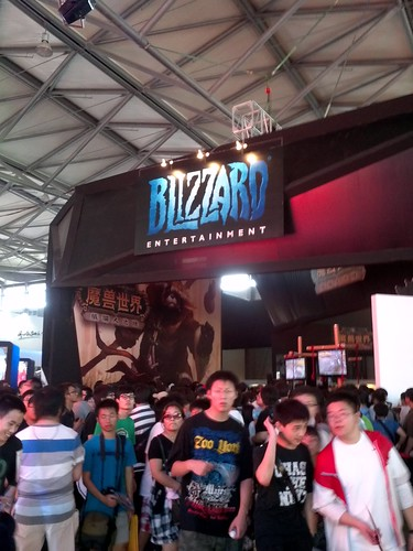 Blizzard at china joy