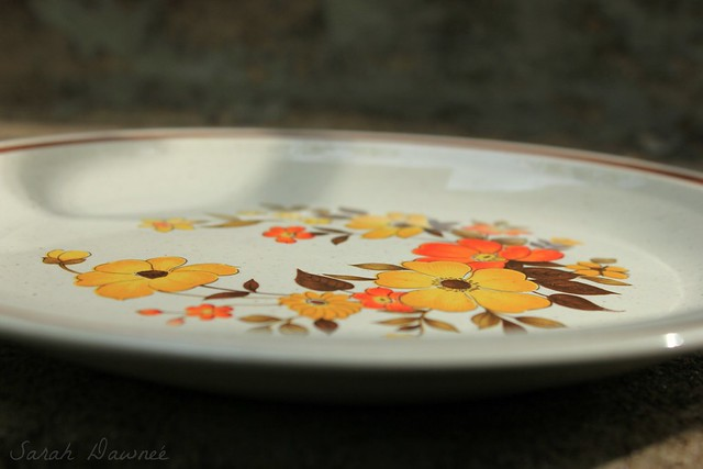 Thrifted plate...