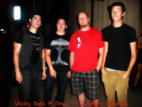 Summer of 2012 Whiskey Radio SoCal Tour