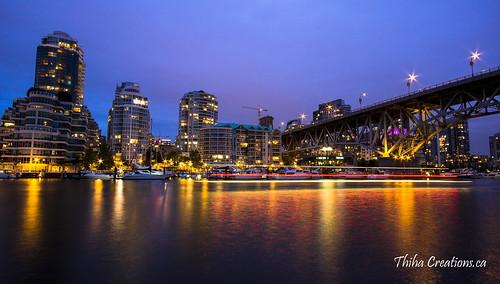 Vancouver Night Scene