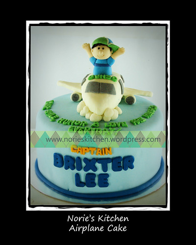 Norie's Kitchen - Airplane Cake by Norie's Kitchen