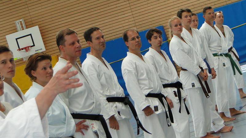 Die Trainer und Verantwortlichen im Karate Dojo Poing
