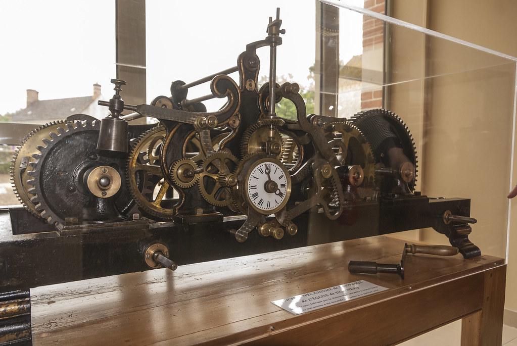 Mécanisme de l'horloge de Donnery