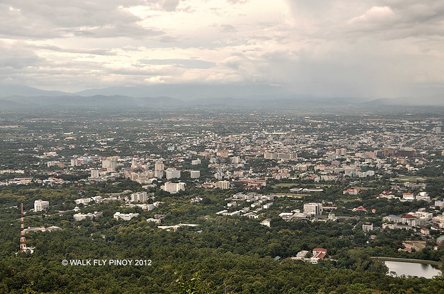 View of Chiang Mai, Thailand from Doi Suthep