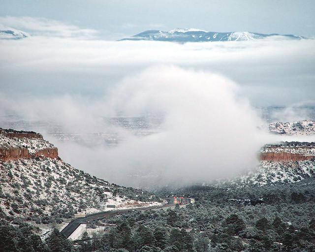 Snow vortex