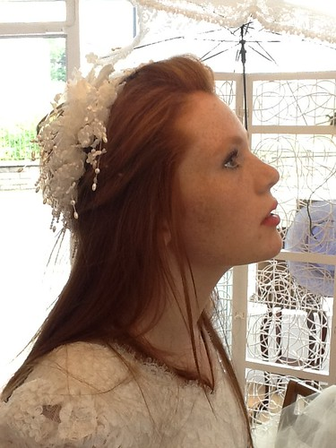 alice in wedding dress by Vintage Vision