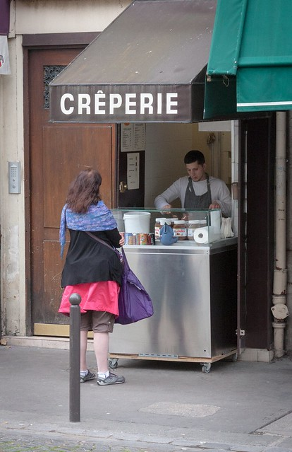 Crepes in Paris
