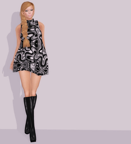 [CM] GoGo Dress - Swirls - Vintage Fair 2012 | Truth Hair