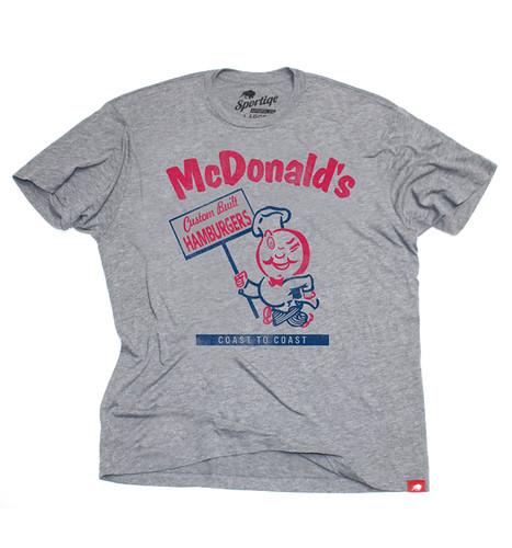 McDonald's Custom Built Hamburgers T-Shirt By Sportiqe Apparel