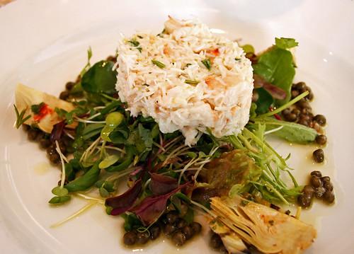 Crab Florentine