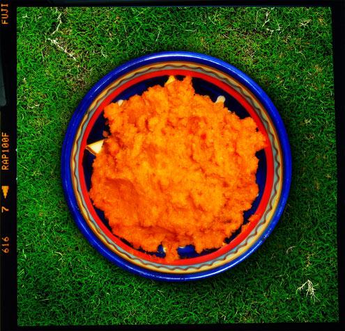 Carrot & harissa dip