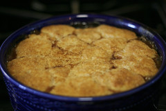 Finished cobbler