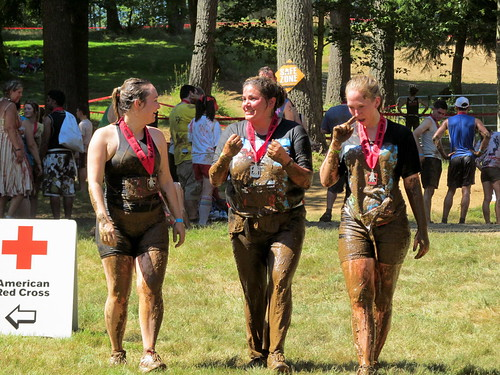 Team Apocalyptic Avengers - covered in mud!