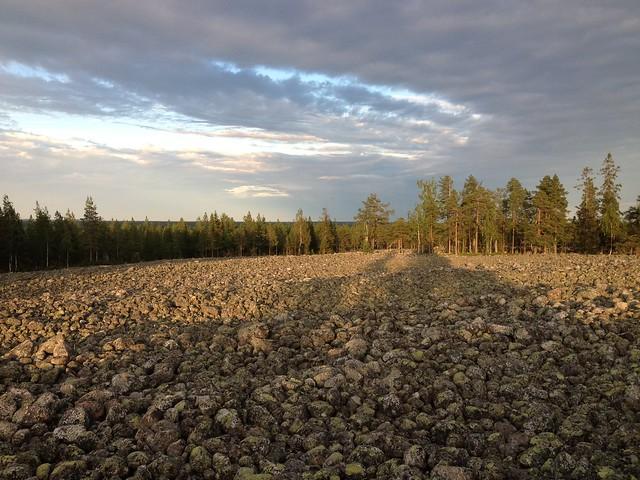 Klapper stone field