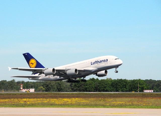 Lufthansa's A380 is Texas Sized -