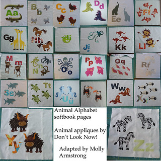 Animal Alphabet soft book
