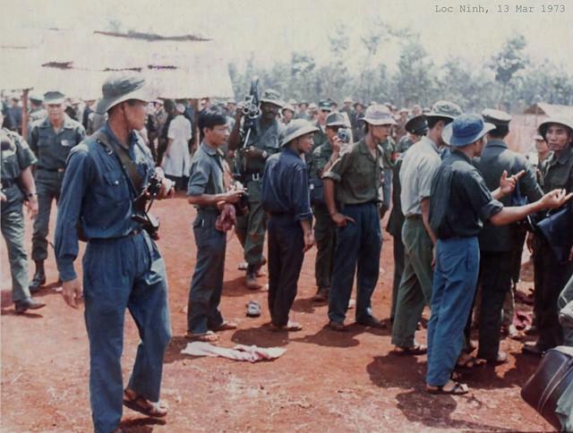 Lộc Ninh 1973 - Trao trả tù binh