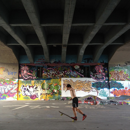 Skateboarding @ Zurich