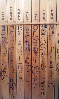 Texas Hieroglyphics (cattle brands)