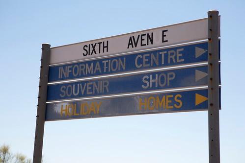 Gone Signpost