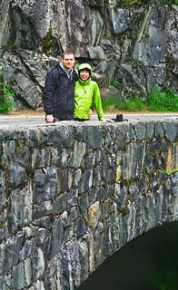 Kate and Dave at Christine Falls