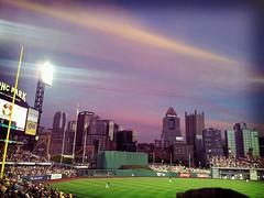 PNC Park at dusk