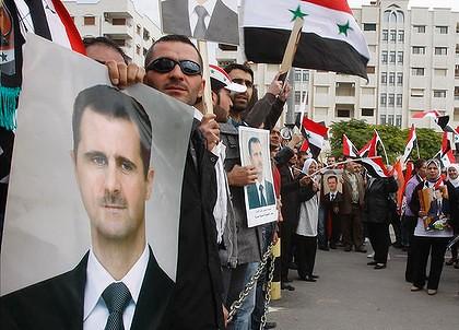 Pro-Bashar Syrian Protestors in Sydney