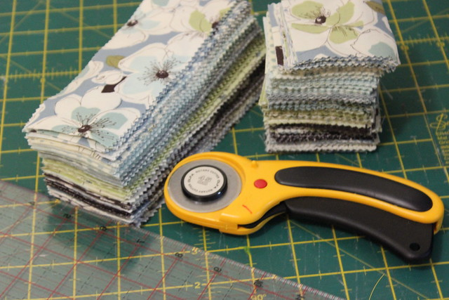 Jelly roll cuts for simplify project