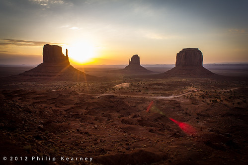 Monument Valley, dawn