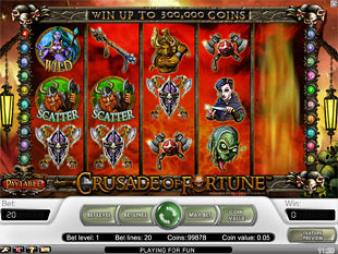 Crusade of Fortune slot game online review