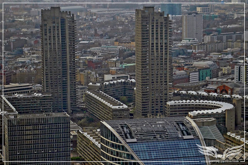 The Establishing Shot: 007 Quantum Of Solace MI6 Film Location - The Barbican from the air, London by Craig Grobler