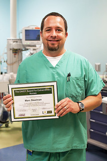 Marc Steelman, RN August 2012 Dasiy Award