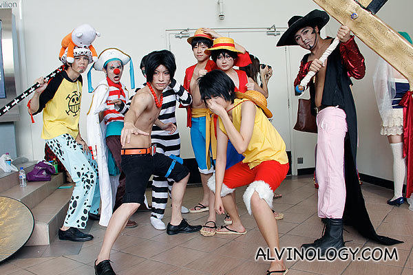 Team from One Piece
