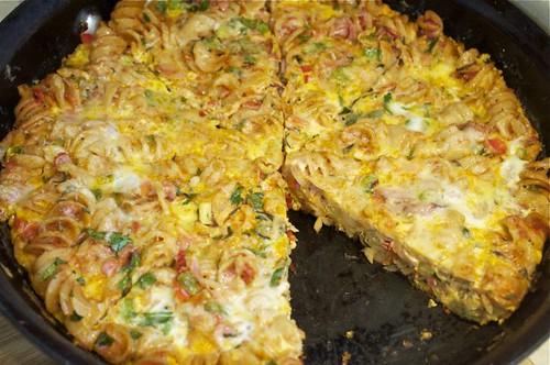 pasta frittata 16