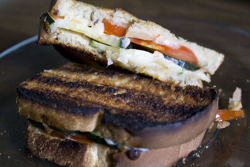 Grilled Zucchini Sandwich Recipe