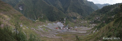 panorama asia view rice terrace south philippines terraces amphitheatre east southeast amphitheater overlook banaue batad filipinas philippinen reisterrassen