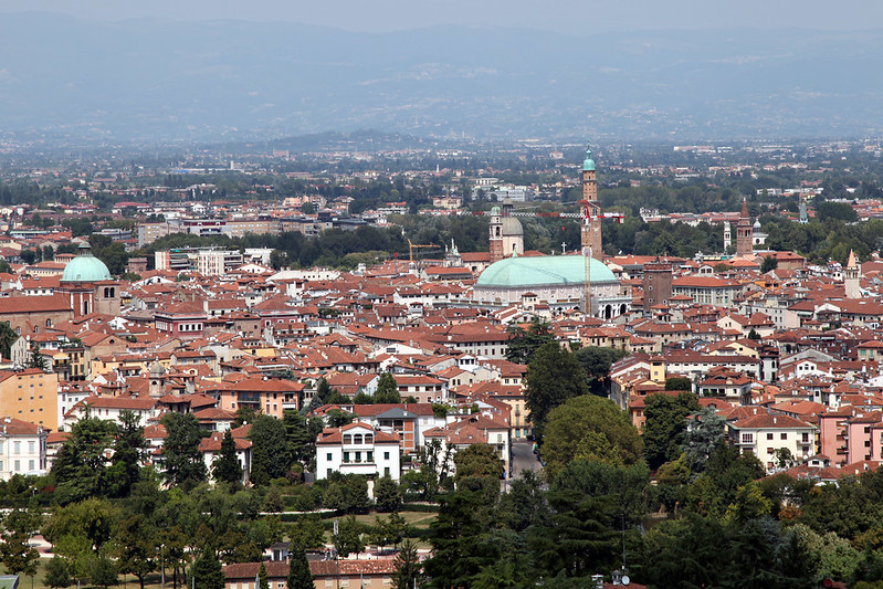 vicenza from high