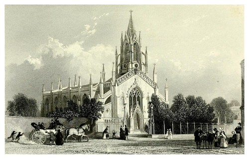008-Iglesia de St. Johns en Richmond 1840- A topographical history of Surrey 1878-Vol 2- Edward Wedlake Brayley