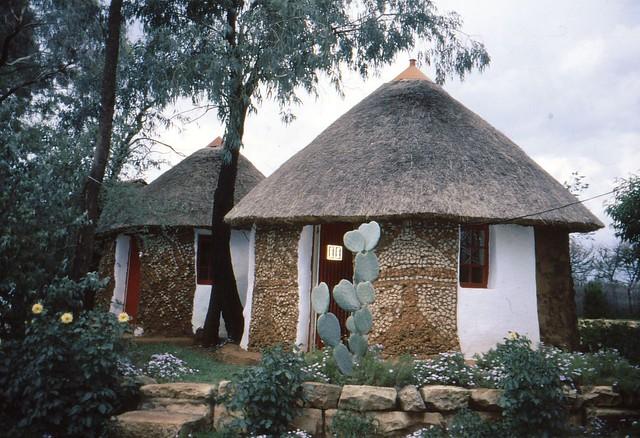 Lesotho mud houses