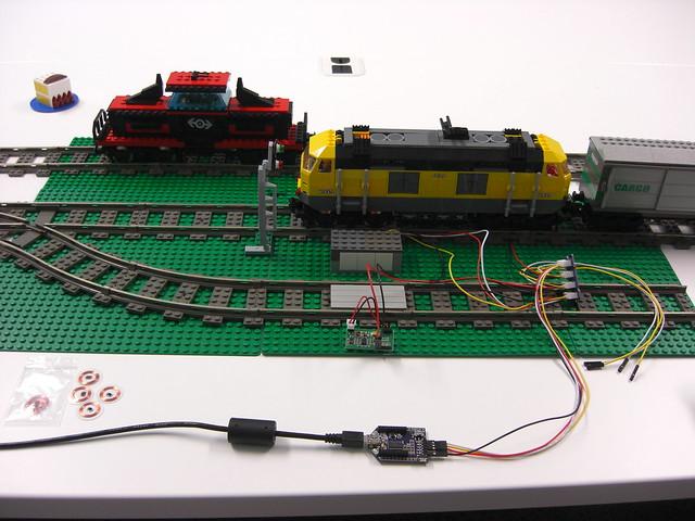 Train Tracking with RFID - LEGO Train Tech - Eurobricks Forums