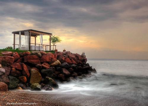 sunrise mexico slowshutter puertovallarta hdr pseudo vacationclub sheratonbuganvilias nikond7000 rexmontalbanphotography
