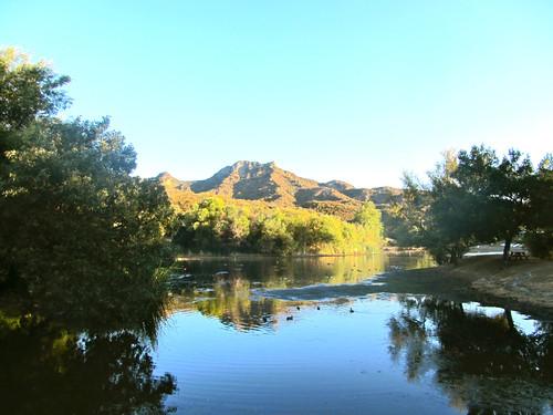 lake evaporates