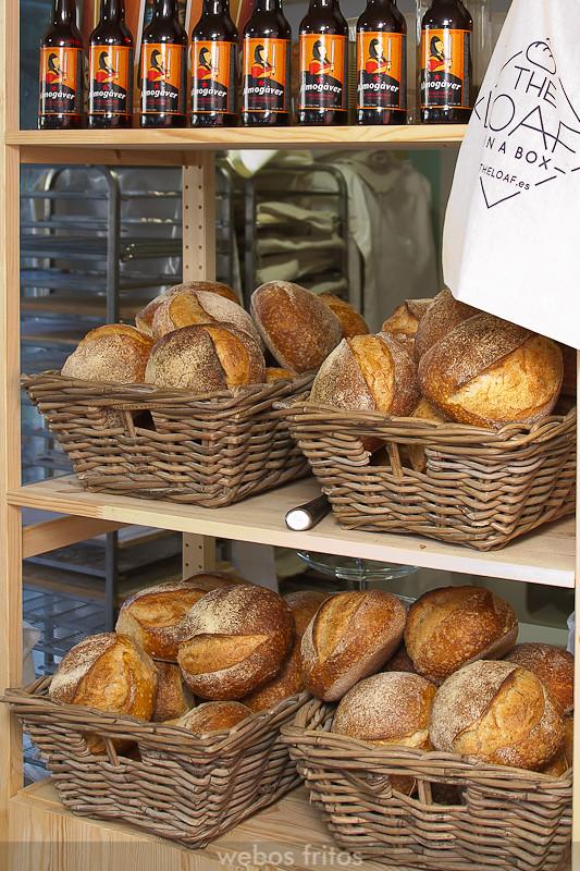 Los panes ya cocidos