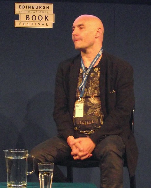 Edinburgh Book Festival 2012 - Grant Morrison 03