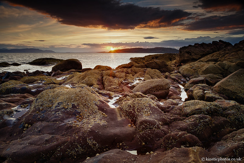 Portencross Sunset [IMG_7059_Merged]