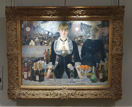 A Bar at the Folies-Bergère, 1881-2, Edouard Manet, The Courtauld Gallery, London