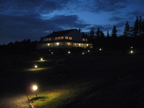 Inn at St. Peter's at Night, PEI